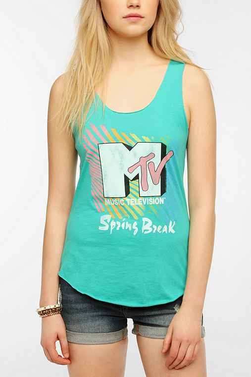 Junk Food MTV Spring Break Tank Top