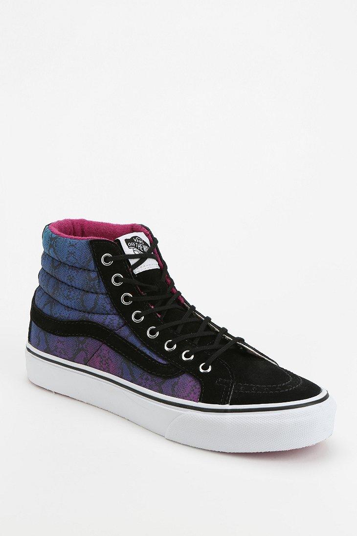 vans sk8 hi geo print women 39 s high top sneaker urban outfitters. Black Bedroom Furniture Sets. Home Design Ideas
