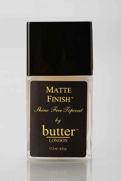 butter LONDON Matte Top Coat Nail Polish,ASSORTED,ONE SIZE