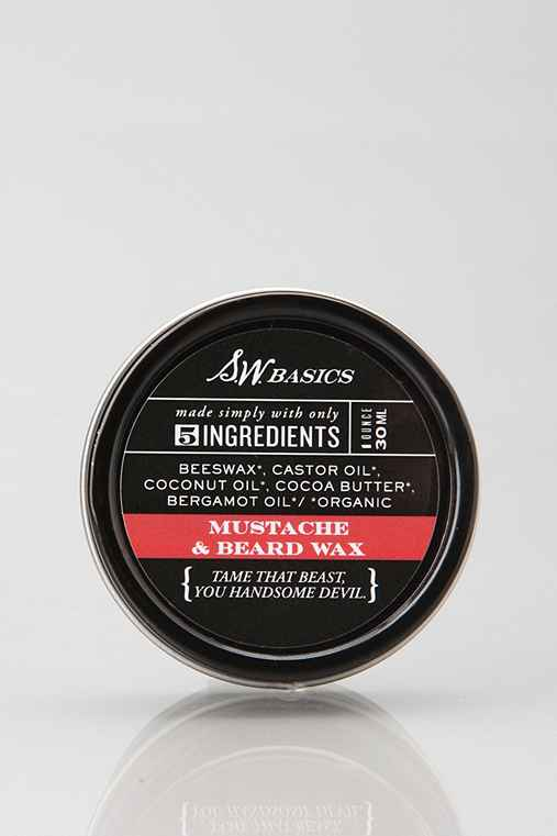 S.W. Basics Moustache & Beard Wax