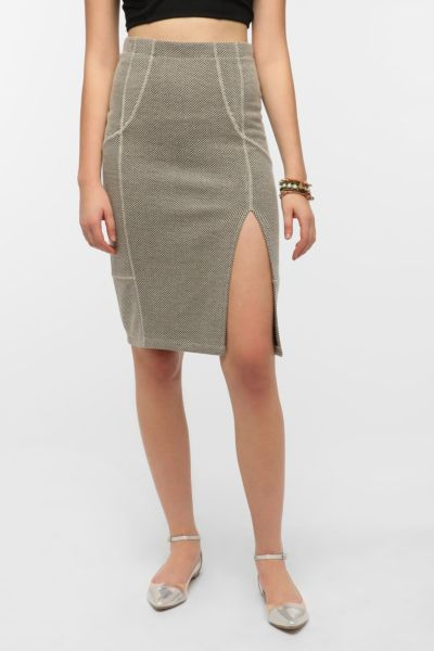 Costa Blanca Tweedy Pencil Skirt