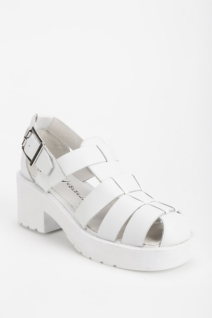 ccc7c54b7a2 JEFFREY CAMPBELL ARGO PLATFORM SANDAL - URBAN OUTFITTERS on The Hunt