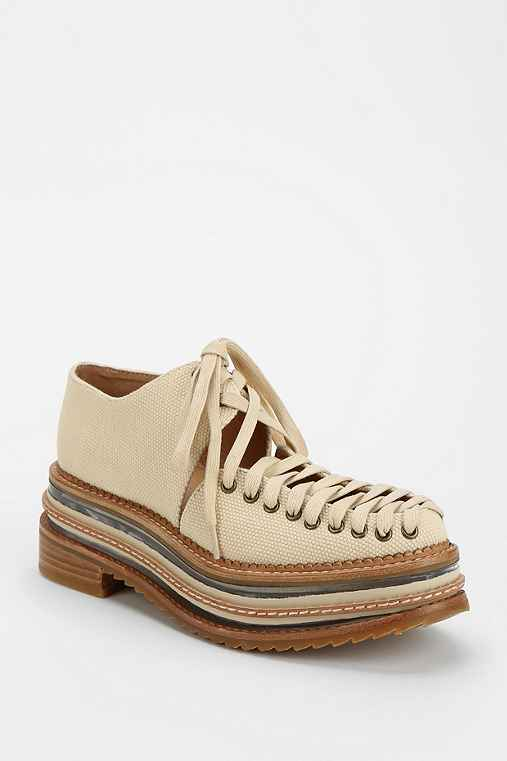 Jeffrey Campbell Ron Lace-Up Platform Oxford