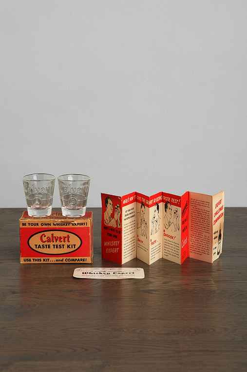 Vintage Whiskey Taste Test Kit