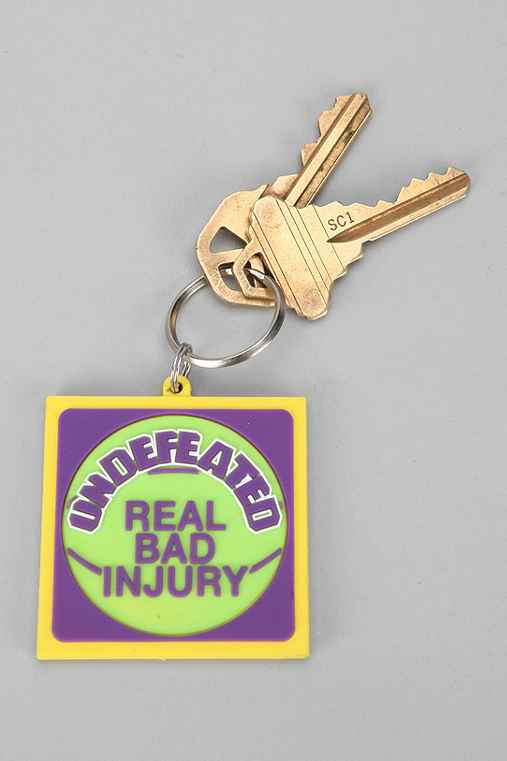 Undefeated Real Bad Keychain