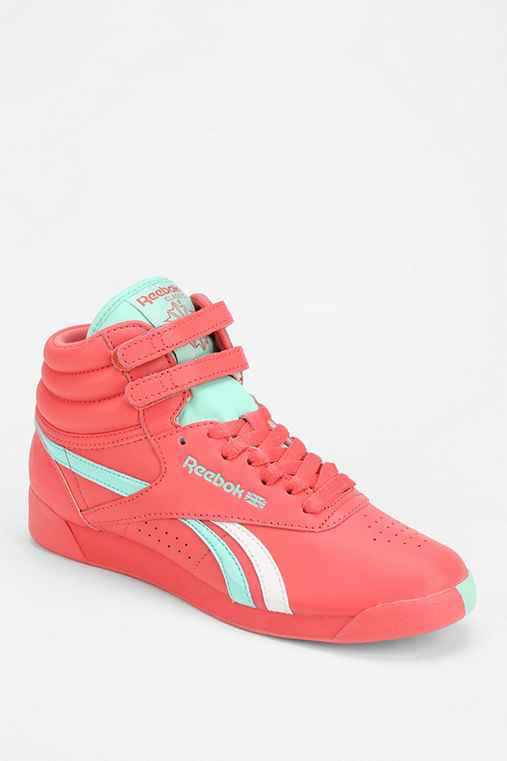 Reebok Freestyle Split High-Top Sneaker