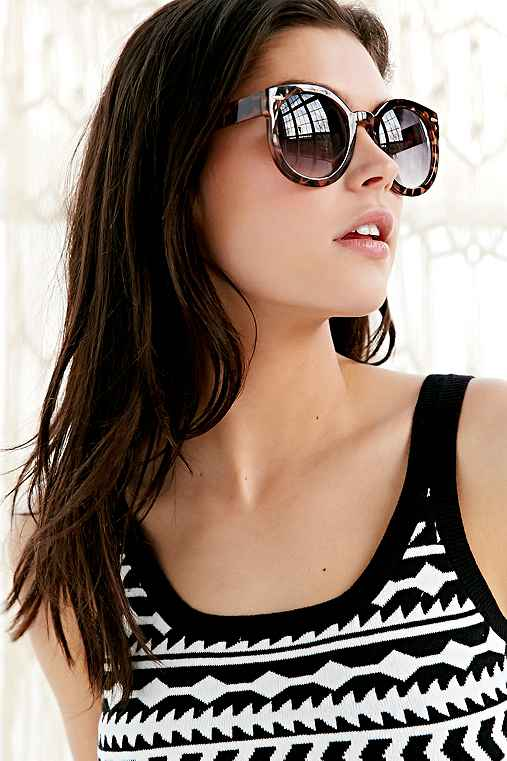 Emma Sunglasses,BROWN,ONE SIZE