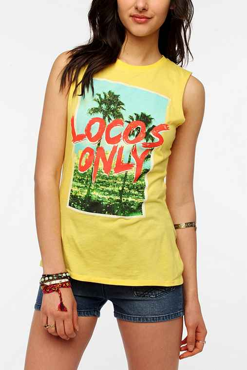 Corner Shop Locos Only Muscle Tee
