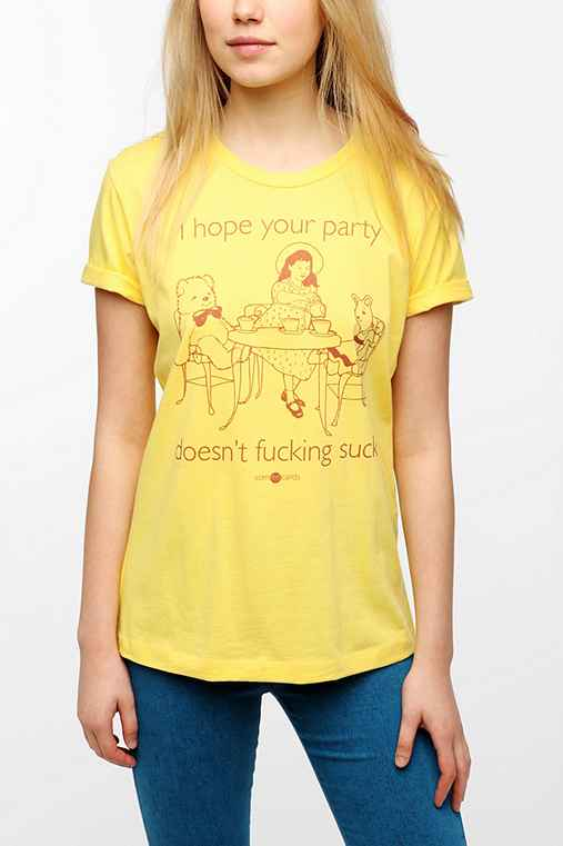 someecards I Hope Your Party Tee