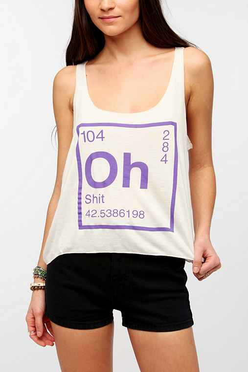The Element Of Oh Sh*t Tank Top