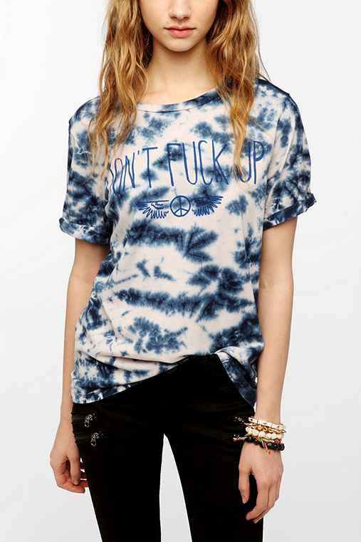 2x3 Don't F*ck Up Tie-Dye Tee