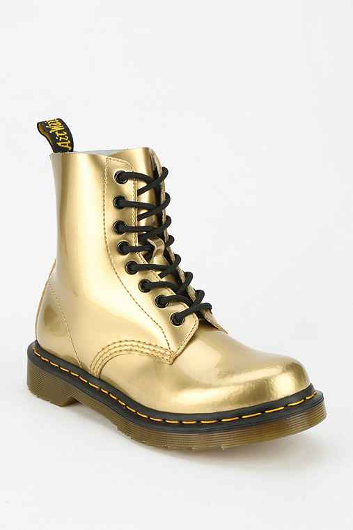 Dr. Martens Pascal Metallic Patent Leather 8-Eye Boot