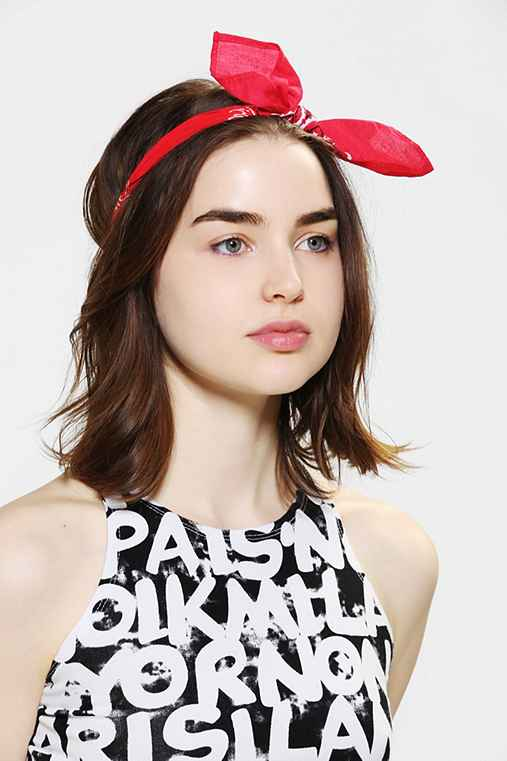 Urban Renewal Bandana Bow Headband