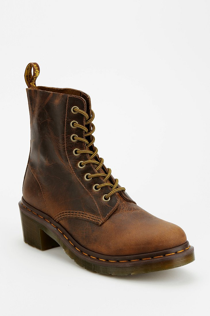 Dr Martens Clemency Heeled 8 Eye Boot Urban Outfitters