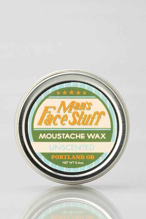 Man's Face Stuff Mustache Wax
