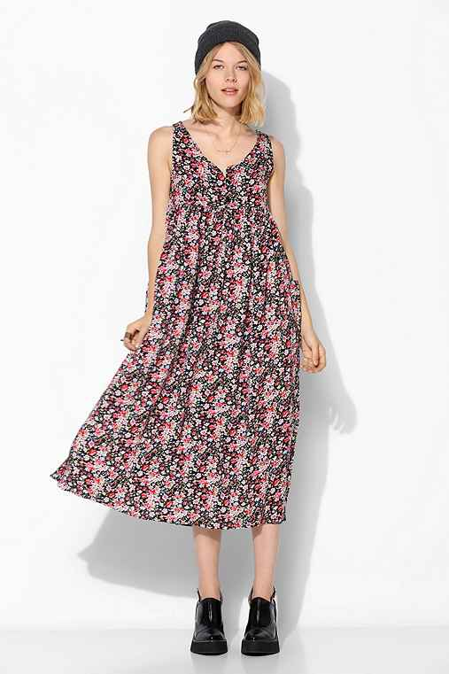 Urban Renewal Babydoll Maxi Dress