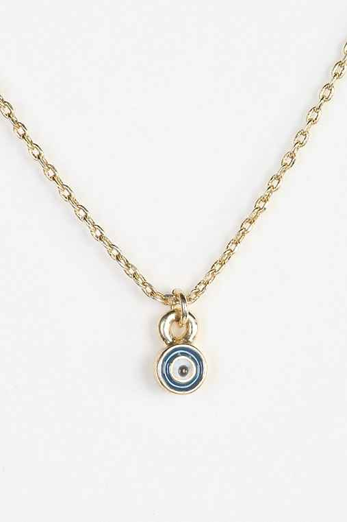 Teeny Tiny Evil Eye Necklace