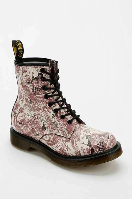 Dr. Martens 1460 Floral Drawing 8-Eye Boot