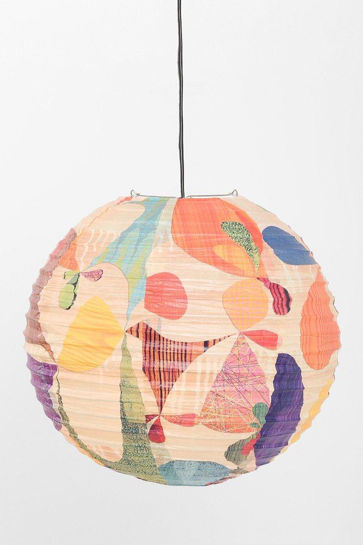 Handmade paper lantern for Homemade paper lanterns