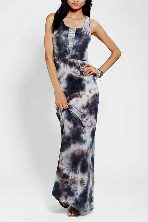 Staring At Stars Lace Inset Tie-Dye Maxi Dress