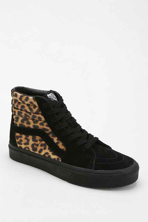 Vans Sk8-Hi Leopard Print Women's High-Top Sneaker