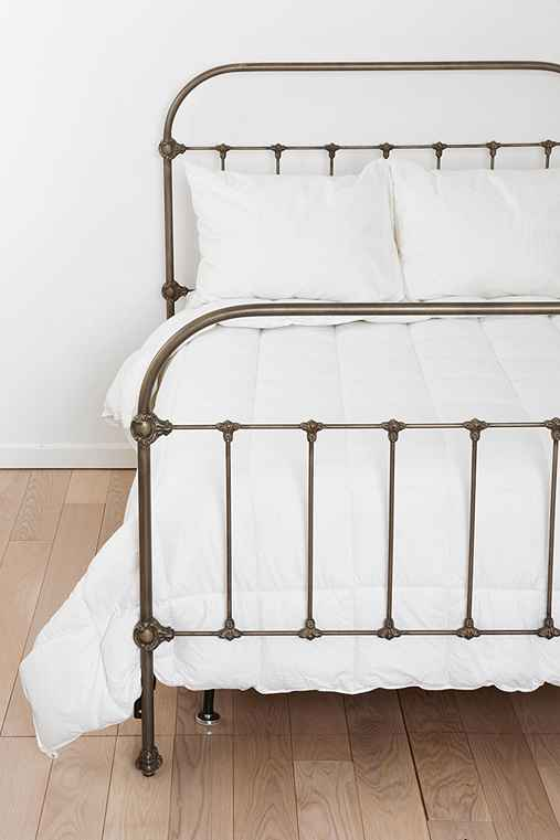 Plum Amp Bow Callin Iron Bed Urban Outfitters
