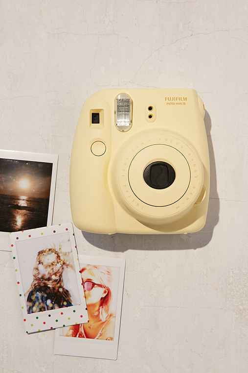 Fujifilm Instax Mini 8 Instant Camera,YELLOW,ONE SIZE