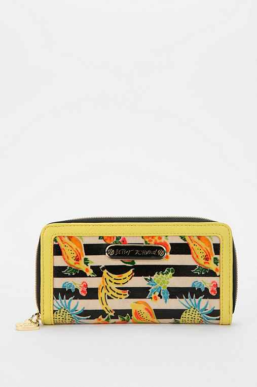 Betsey Johnson Fruity Checkbook Wallet