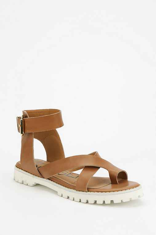 Kelsi Dagger Brooklyn Sporty Toe-Hold Sandal