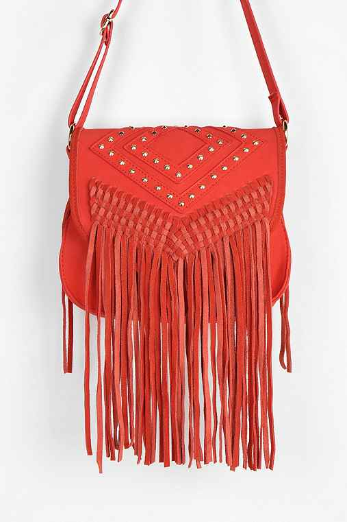 f3a80991a5 ... Suede Fringe Hobo Bag Ecote Studded Fringe Crossbody Bag ...