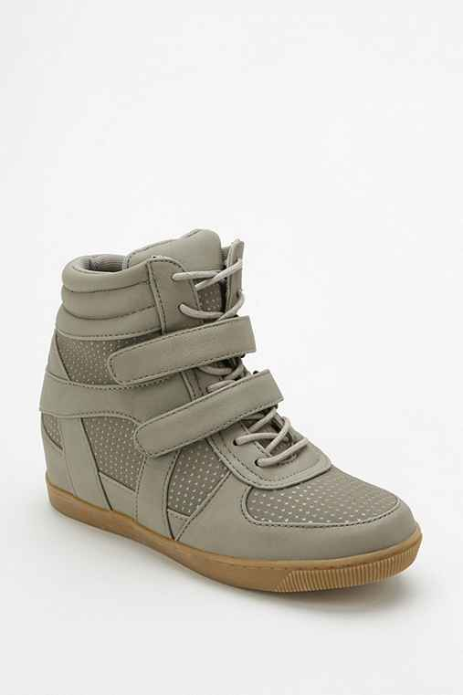 Deena & Ozzy Tonal Strap Hidden Wedge High-Top Sneaker
