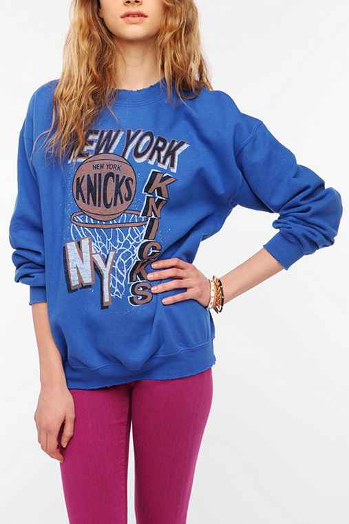 Junk Food New York Knicks Basketball Sweatshirt
