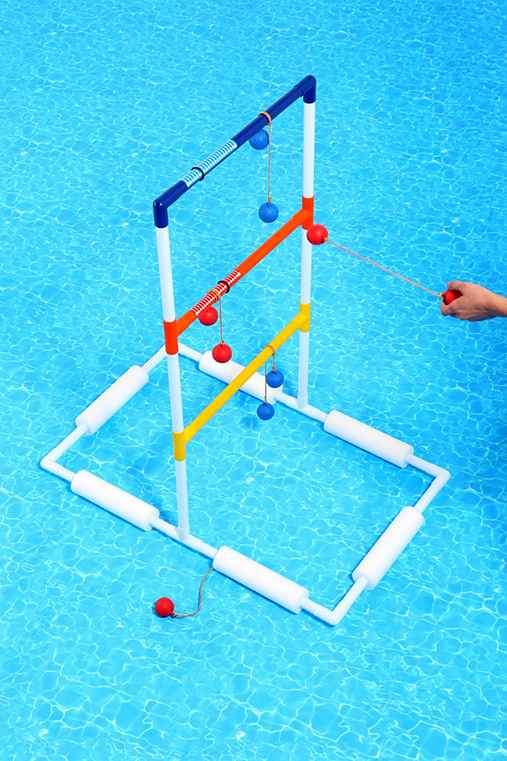 Ladder Ball Pool Game