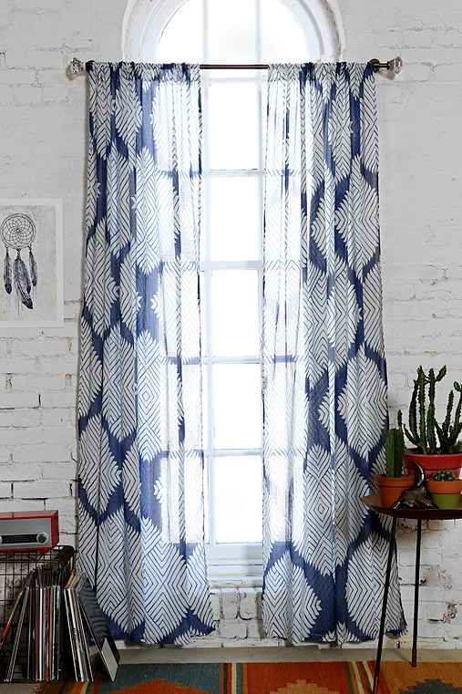 Magical Thinking Diamond Tile Curtain