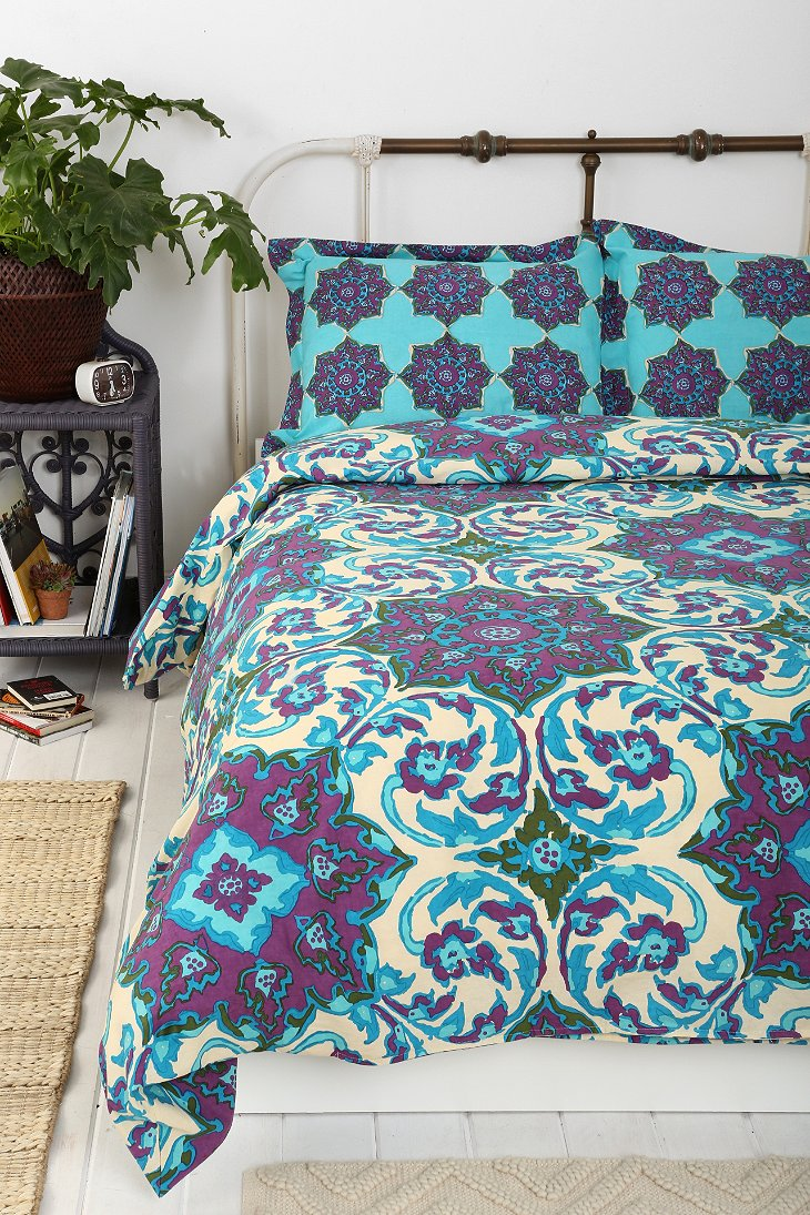 Magical thinking azo medallion duvet cover urban outfitters Magical thinking bedding