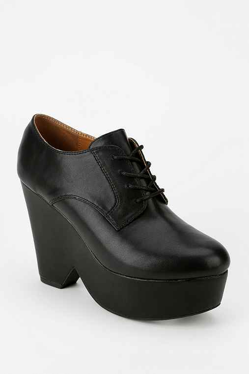 Cooperative Lace-Up Platform Oxford