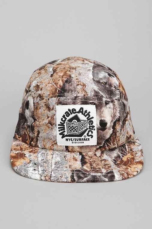 Milkcrate Athletics Wolves Camp Hat
