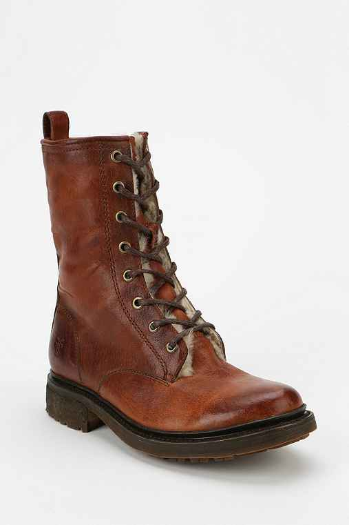 Frye Valerie Lace-Up Boot