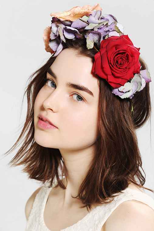 Katie Burley Millinery She Loves Flower Crown Headwrap