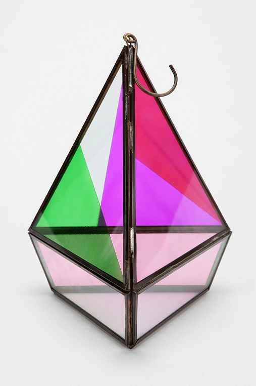 Magical Thinking Faceted Hanging Terrarium