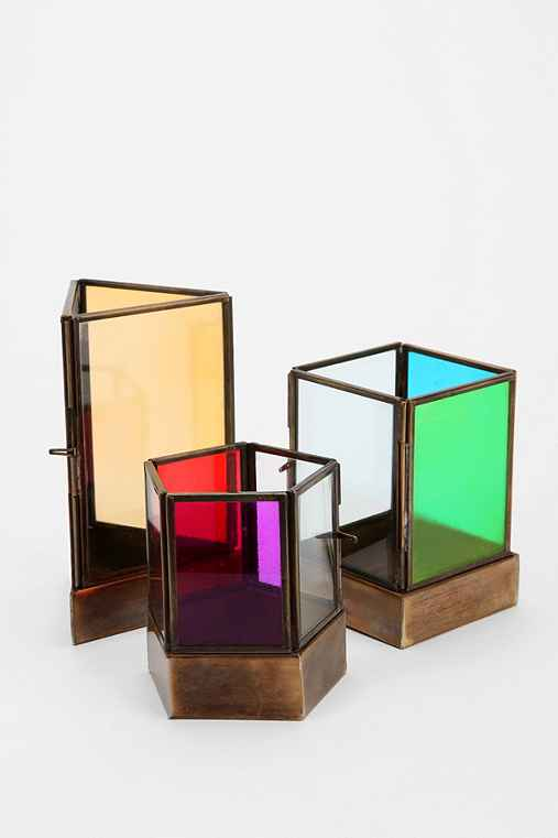 Magical Thinking Geo-Tinted Candle Holder