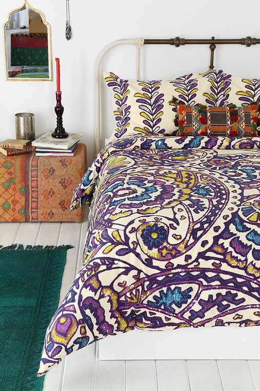 Magical Thinking Paisley Sketchbook Duvet Cover Urban