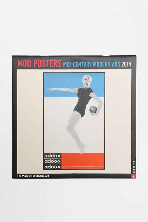 Mod Posters 2014 Wall Calendar By The Museum Of Modern Art