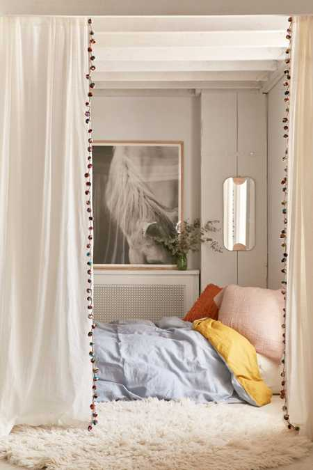 Magical Thinking Pompom Curtain