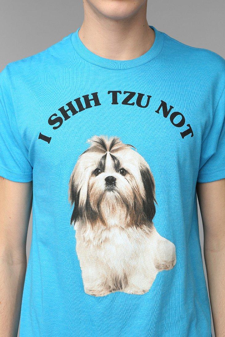 I Shih Tzu Not Tee Urban Outfitters