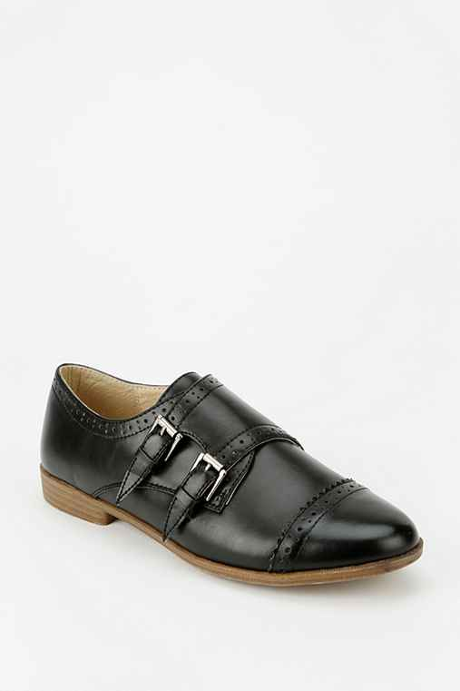 Restricted Boston Double-Buckle Oxford