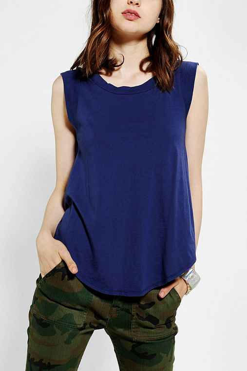 Alternative Cap-Sleeve Muscle Tee