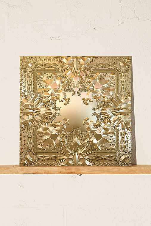 Jay Z & Kanye West - Watch The Throne 2XLP+Poster,ASSORTED,ONE SIZE