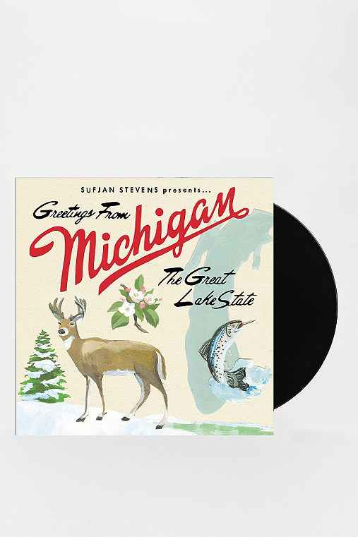 Sufjan Stevens - Michigan 2XLP,ASSORTED,ONE SIZE