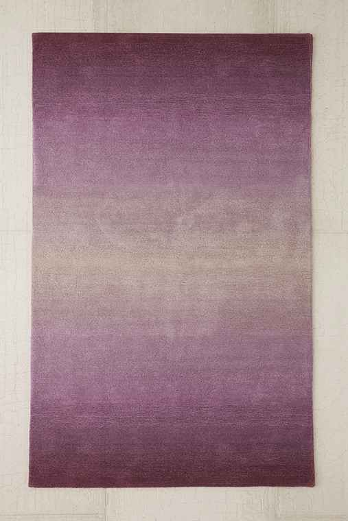 Fade Out Tufted Rug,PURPLE,8X10